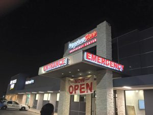 custom lighted storefront signs